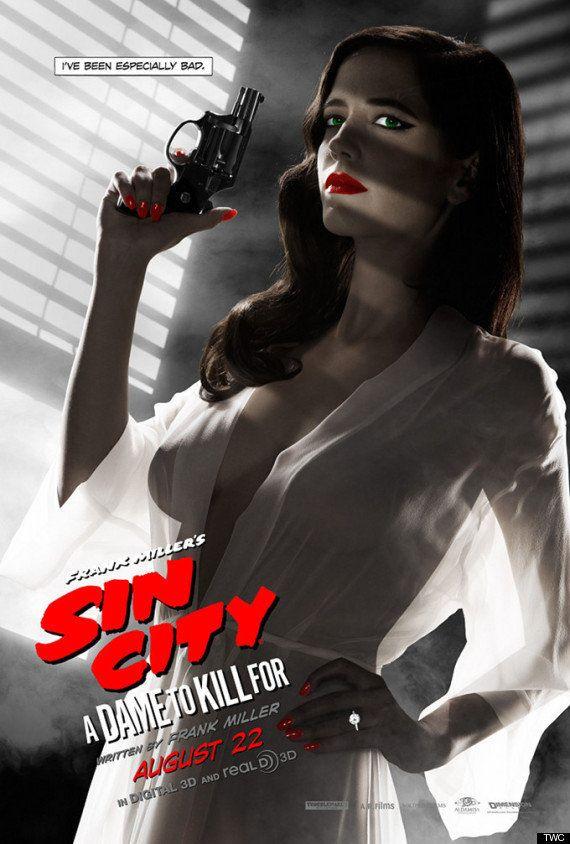 PHOTO. Les seins d'Eva Green provoquent la censure d'une affiche de Sin