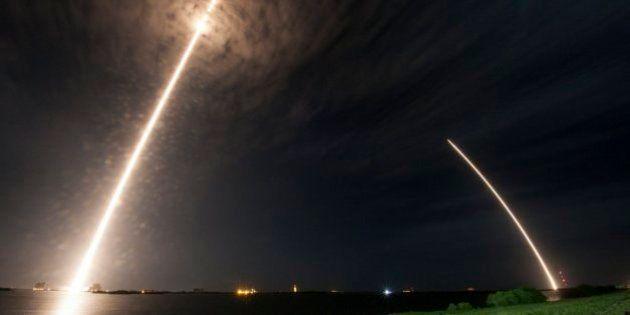 SpaceX réitère son exploit en posant le lanceur de son vaisseau spatial sur la terre