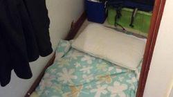 Pire que Paris, la chambre sous l'escalier à 678 euros/mois à