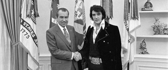 Quand Nixon voyait en Elvis un moyen de remonter dans les