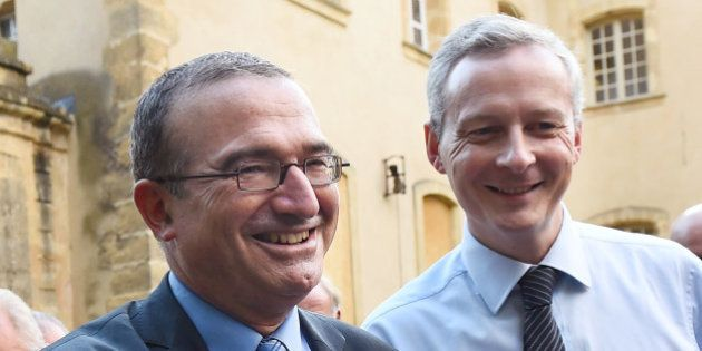 Mariage gay : Nicolas Sarkozy relance Bruno Le Maire et Hervé Mariton pour la présidence de