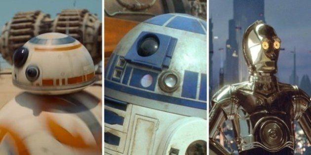 C-3PO, BB-8, R2D2... Quel robot de