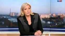 La réponse du parti socialiste aux propos de Marine Le Pen au 20h de