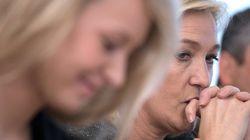 Marine Le Pen et Marion Maréchal données perdantes au second