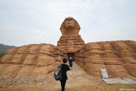 PHOTOS. La Chine copie le Poudlard de Harry Potter et en fait un