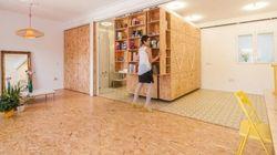 PHOTOS. Une maison insolite dont les murs coulissent pour transformer