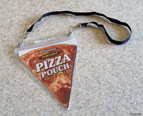 Transportez votre part de pizza avec vous grâce à cette