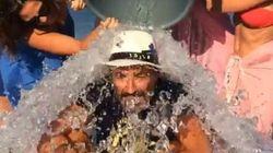 Les stars françaises se mettent au Ice Bucket