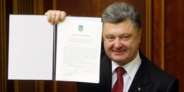 Ratification de l'accord d'association entre l'Ukraine et l'UE: tout ça pour