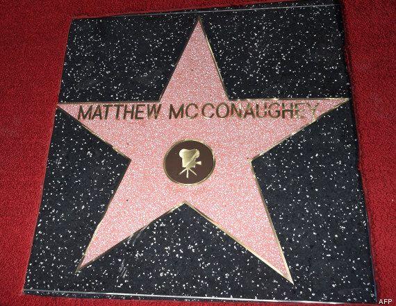 PHOTOS. Matthew McConaughey reçoit son étoile à
