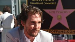 Matthew McConaughey a son étoile sur Hollywood