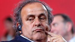 La suspension de Michel Platini