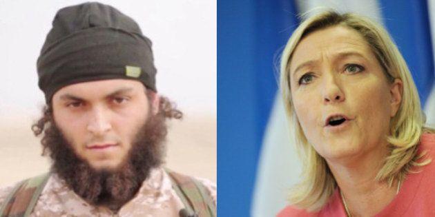 VIDÉO. Quand Marine Le Pen pensait que les jihadistes ne poussaient pas