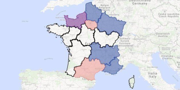Découvrez tous les sondages réalisés pendant l'entre-deux tours des élections régionales