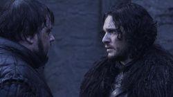 Jon Snow sur le tournage de la saison