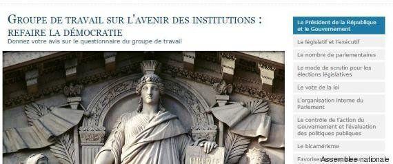 Institutions: le rapport de Claude Bartolone soumis à la consultation des