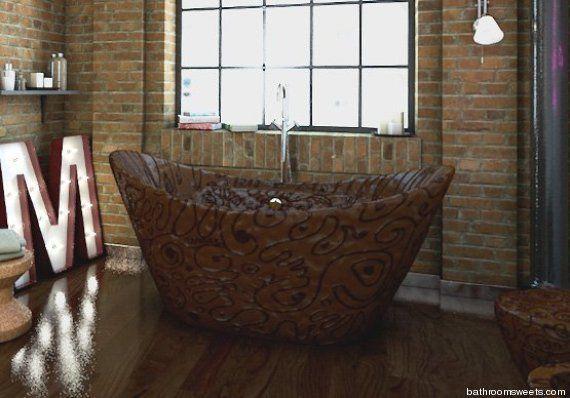 PHOTOS. Décoration : une salle de bain réalisée entièrement ...