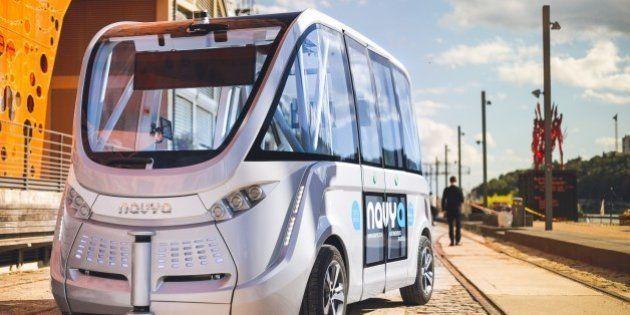 Voiture autonome : les Français aussi travaillent sur le véhicule de