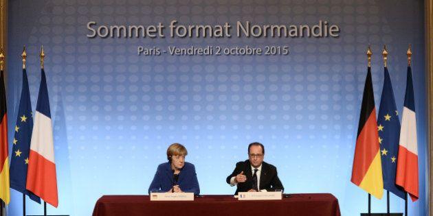 Sommet sur l'Ukraine: Hollande annonce des élections locales dans l'est après