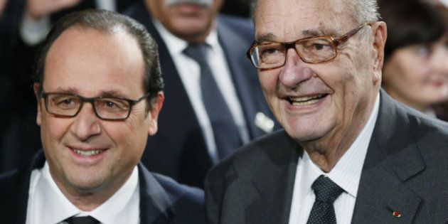 Hollande et Chirac réunis pour le prix de la fondation: deux destins qui ne cessent de se