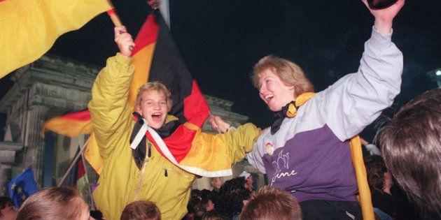 La Réunification de l'Allemagne fête ses 25 ans en plein