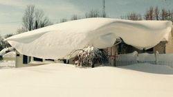 Bloqués par la neige, les internautes américains partagent d'incroyables