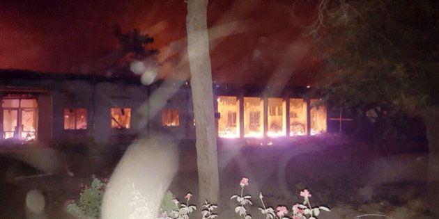 PHOTOS. Un hôpital de Médecins sans Frontières bombardé en Afghanistan, les États-Unis peut-être