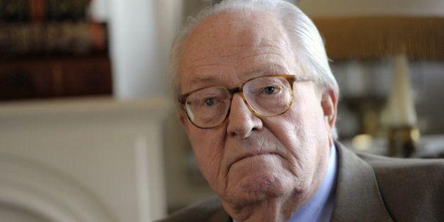 Jean-Marie Le Pen condamné à payer 5000 euros d'amende pour des propos