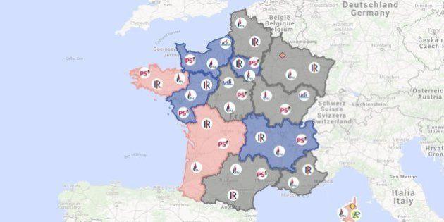 Elections régionales 2015: les enjeux région par région avant le second