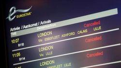 1300 passagers d'Eurostar bloqués dans le noir toute la nuit près de