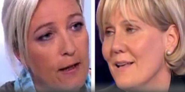 VIDÉO. Comme Nadine Morano, Marine Le Pen défendait le concept de