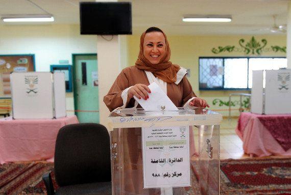 PHOTOS. Arabie saoudite: les femmes votent pour la première