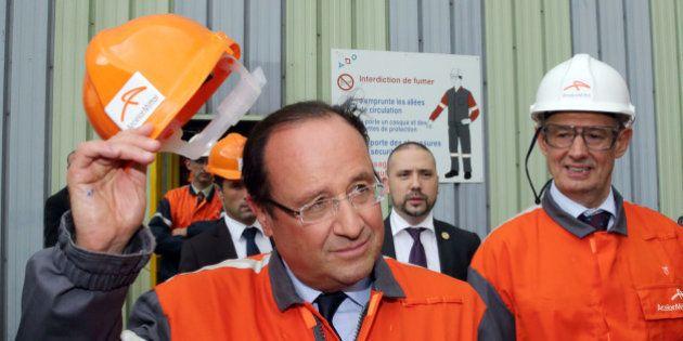 François Hollande à Florange: une promesse qui tient bon (pas comme la