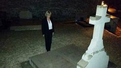 Après la polémique, Morano se recueille sur la tombe du Général de