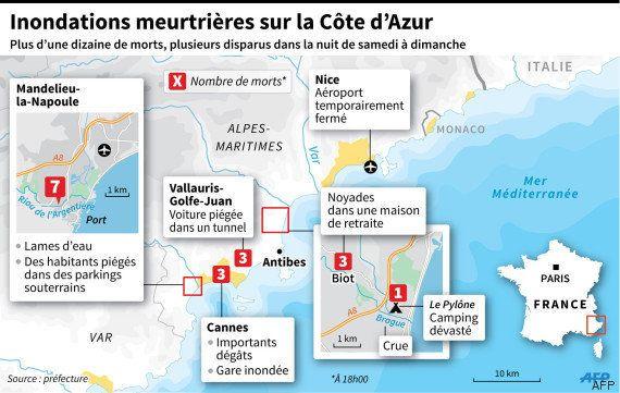 Inondations en Côte d'Azur : l'urbanisation en