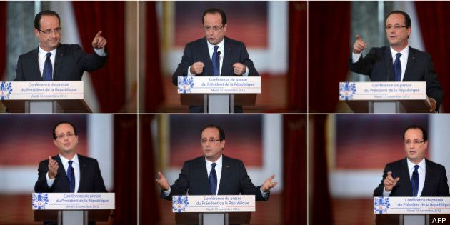Conférence de presse de François Hollande: les dix questions auxquelles il va devoir