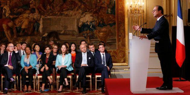 Revivez la conférence de presse de François