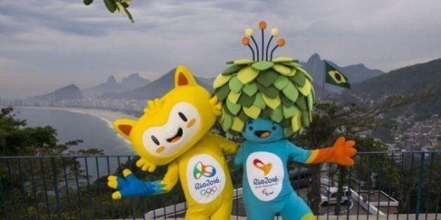 Rio 2016 dévoile les mascottes de ses Jeux