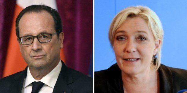 Sur Facebook, Marine Le Pen bat François Hollande et fonce sur Nicolas