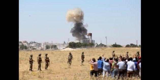 La Turquie annonce avoir bombardé des positions de