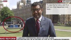 Deux magiciens s'incrustent sur le duplex de Sky News devant