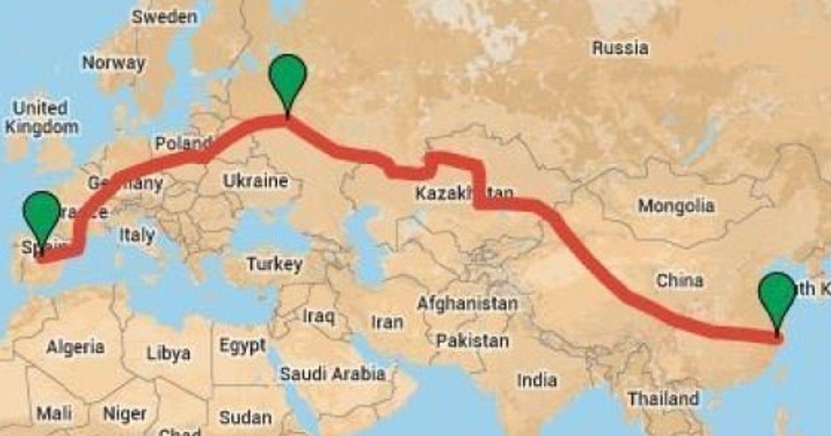 Le nouveau plus long trajet du monde en train | Le HuffPost