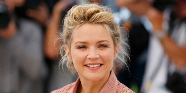 Cast member Virginie Efira poses during a photocall for the