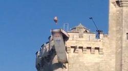 Des plongeons spectaculaires depuis la tour Saint-Nicolas de La