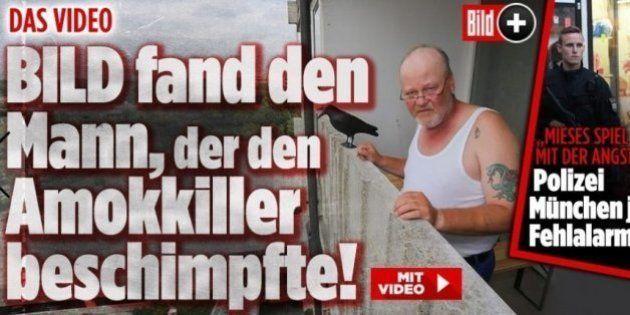 La presse allemande a retrouvé l'homme qui a insulté l'auteur de la fusillade de