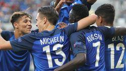 Les Bleuets battent l'Italie 4-0 et deviennent champions