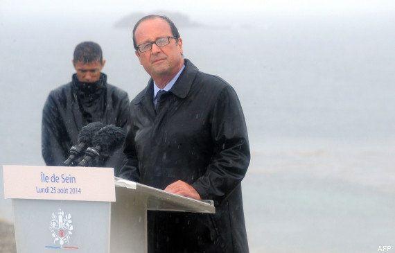 Hollande sur l'île de Sein: