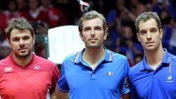 Coupe Davis: un clash franco-suisse (dans des toilettes) pour
