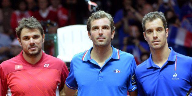 Stanislas Wawrinka termine le week-end de Coupe Davis par un clash avec les Français (dans des