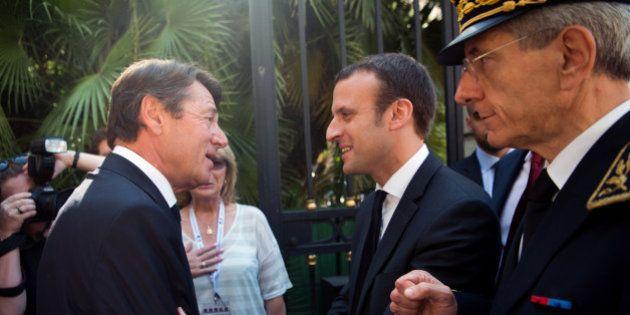 Que fait Emmanuel Macron à Nice avec Christian Estrosi, dix jours après